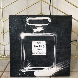 No5 PARIS art frame